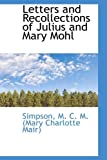 Letters and Recollections of Julius and Mary Mohl, Simpso M. C. M. (Mary Charlotte Mair), 1110363265