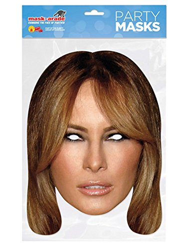 Adult's Paper Melania Trump Mask