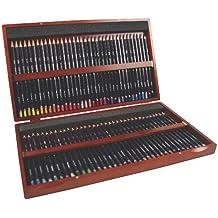 Derwent Colored Pencils, 72 Studio, 3.4mm Core, Wooden Box, 72 Count (32199)