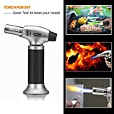 Sondiko Butane Torch, Culinary Torch Refillable