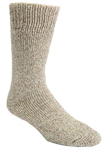 J.B. Icelandic Artic Trail -40 Below Winter Sock (2 Pairs) (Large (8-12 Shoe), Green)