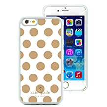 Popular And Unique Designed Kate Spade iPhone 6 White Phone Case 4.7 inch Case 009