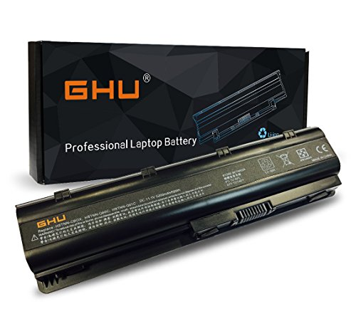 New GHU Battery For HP G32 G42 G56 G62 G62t G72 G72t,Presario CQ42 CQ43 CQ56 CQ62 CQ72 - 593554-001 593553-001- MU06 593562-001 584037-001 HSTNN-LB0W HSTNN-UB0W HSTNN-LB0W HSTNN-CBOW HSTNN-I84C Compaq Laptop Battery Replacement
