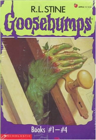 Goosebumps Boxed Set, Books 1 - 4:  Welcome to Dead House, Stay Out of the Basement, Monster Blood, and Say Cheese and Die! ()