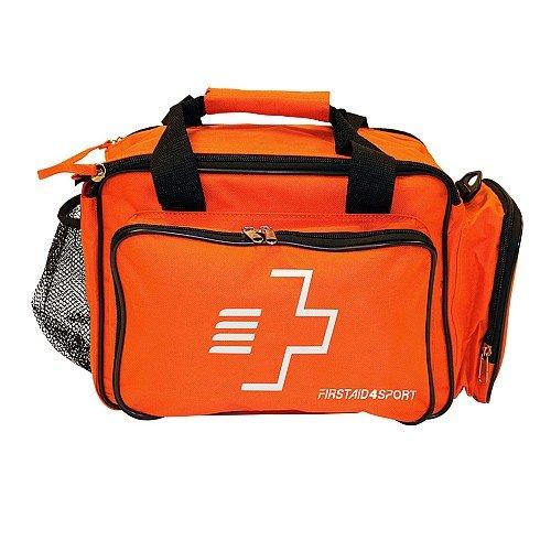 Firstaid4sport First Aid Touchline Bag Orange - Botiquín de primeros auxilios