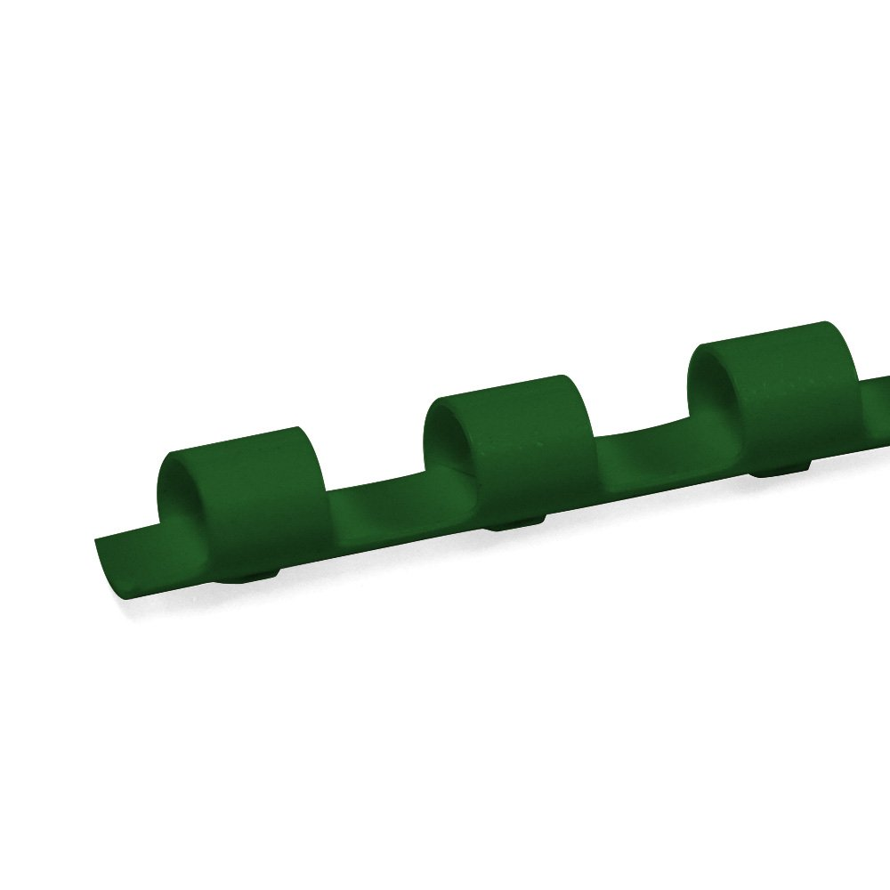 TruBind 10-mm (3/8-inch) Binding Combs - COMB0308 - Durable - 19-Ring - 11 Inches Long - Pre-Sized to Fit Letter-Sized Paper - Compatible with TruBind Binding Machines - 100 per Box