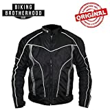 Biking Brotherhood xPLORER All Seasons Riding Black Jacket (M)