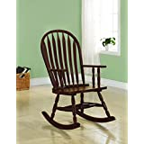 Coaster Traditional Black Rocking Chair