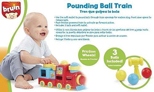 Bruin Pounding Ball Train