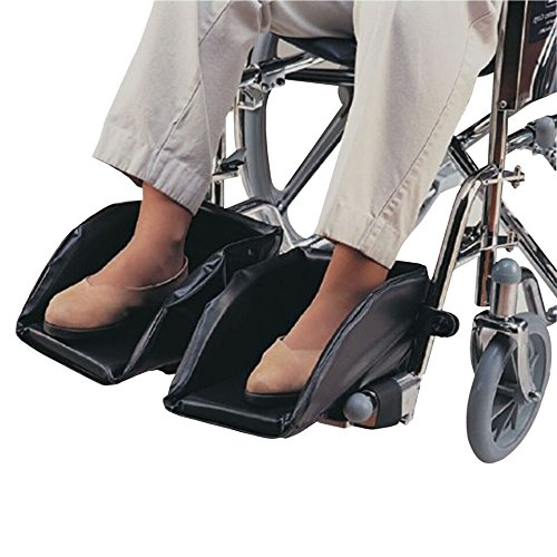 (Skil-Care Swing-Away Foot Support, Standard, Left)