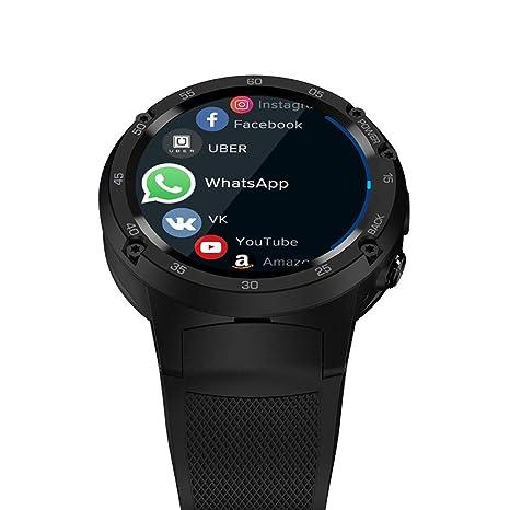 Huang Dog-shop Zeblaze Thor 4 Inteligente Reloj Smartwatch Android 7.0 1GB RAM + 16GB ROM 4G / 2G / 3G LTE GPS WiFi Cámara 5MP Monitor De Ritmo Cardíaco ...