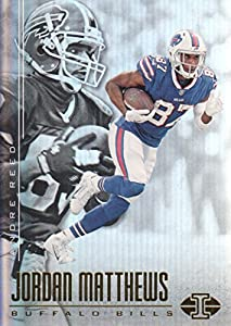 2017 Panini Illusions Football #54 Jordan Matthews/Andre Reed Buffalo Bills