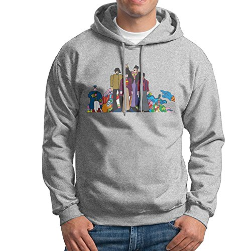LOYRA Men's Yellow Beatles Submarine Sweater Size M Ash