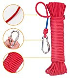 Wukong Fishing Magnet Rope w/Carabiner, 6MM x