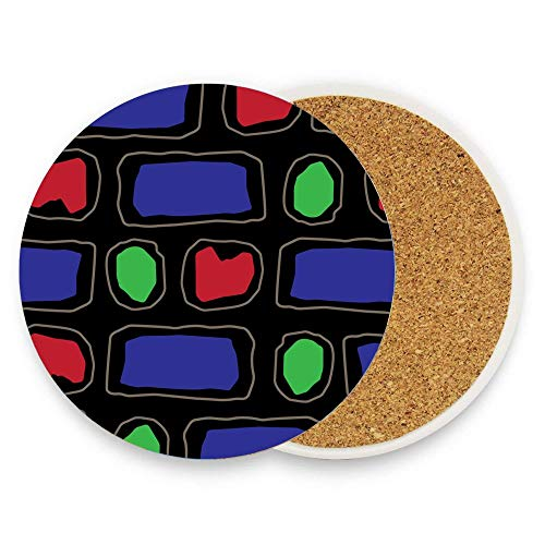 - Jugbasee The Object of My Obsession (pattern) Coaster for Drinks Hot Pads Table Cup Mat Coaster Pack Of 1