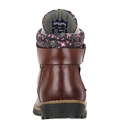 Patterened High Cognac Women's Discovery Ankle Trim Boot Expedition Outdoor w Fashion ttw78q