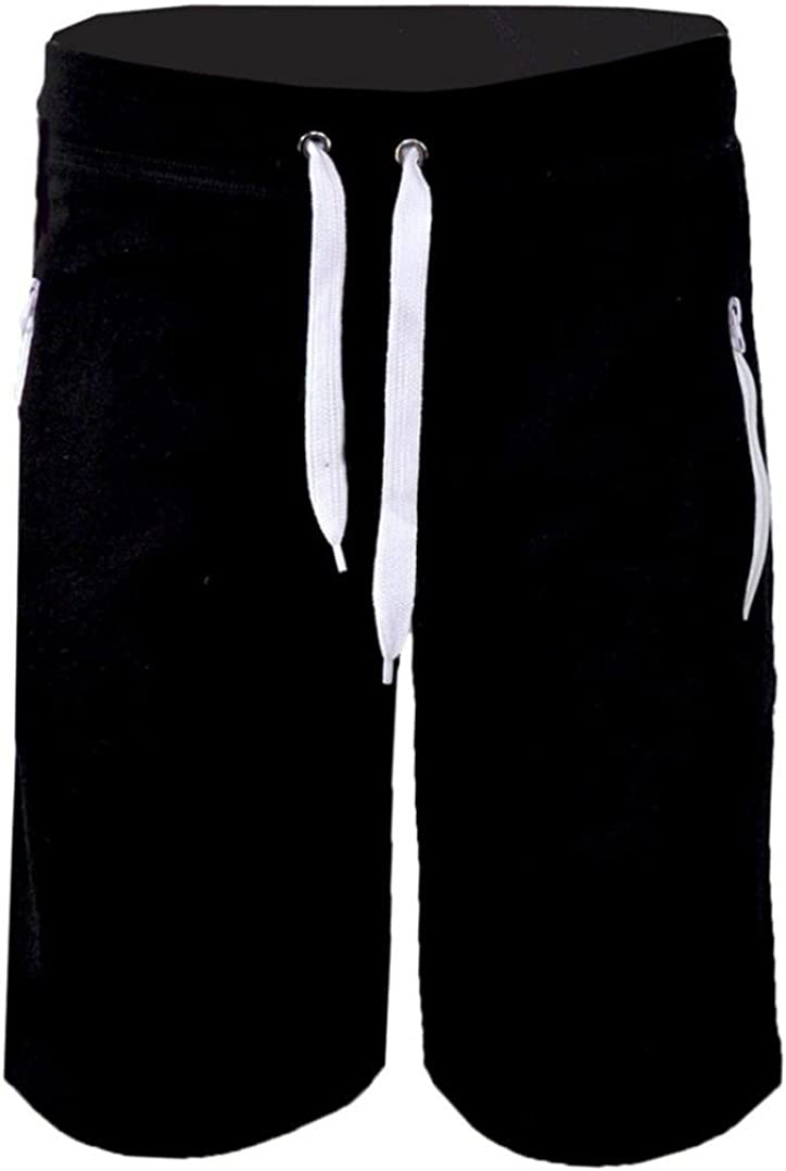 OTW Mens Comfy Short Sleeve Pockets and Cropped Pants Shorts Out Fit
