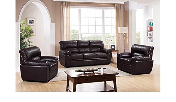 SC Furniture Ltd Burdeos Rojo Piel Gel Material Tela 3 ...