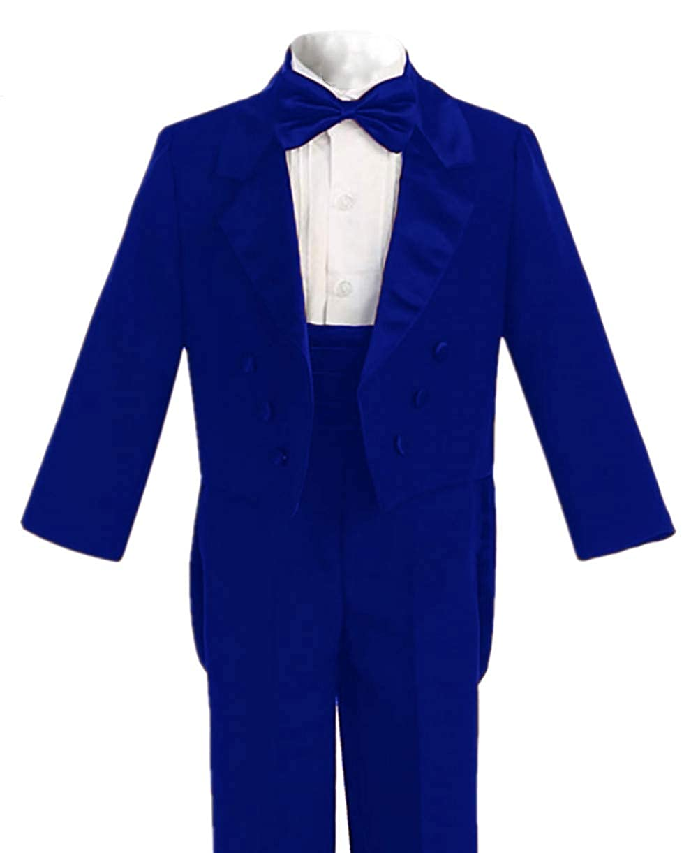 Everbeauty Boys Vintage 2 Pieces Tailcoat Suits for Wedding//Party Formal Outfits