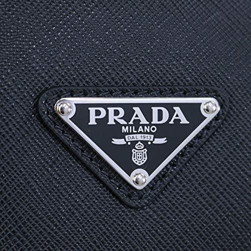 メンズ PRADA バッグ SAFFIANO TRAVEL ショルダー付き 2WAY ビジネスバッグ ブラック (2VE368 9Z2 F0002 NERO) 20SS [並行輸入品]