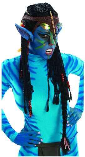 Rubie's Costume Co Avatar Deluxe Wig And Ears, Neytiri-Standard ()