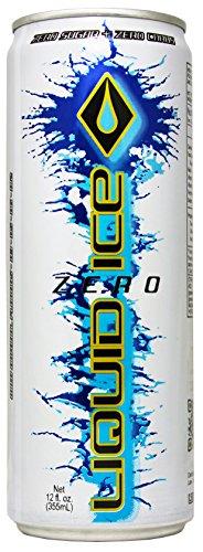 Liquid Ice Zero Energy Drink, 12 Ounce, 24 Count