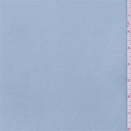 Soft Blue 4-Way Stretch Micro Denier Jersey/Fleece, Fabric Sold By