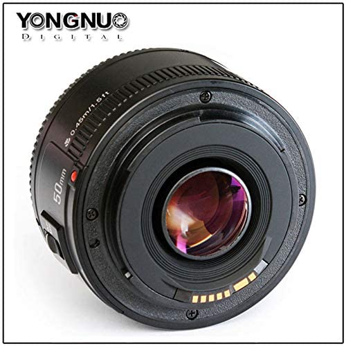 YongNuo YN50mm F1.8 AF MF Large Aperture Auto Focus Lens for Canon Camera