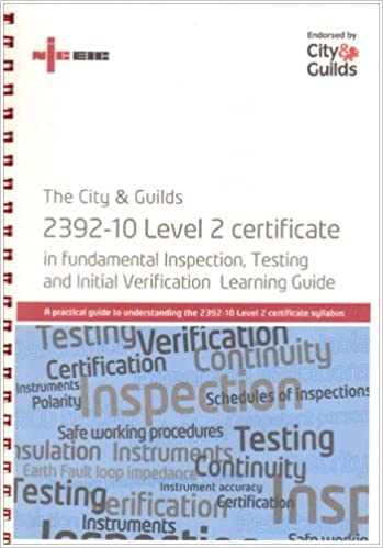 The City And Guilds 2392 10 Level 2 Certificate In
