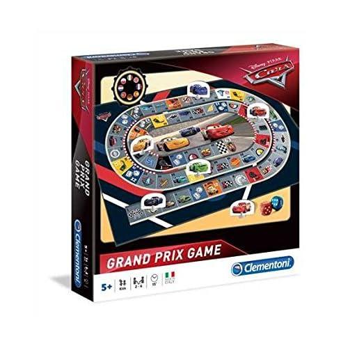 Clementoni Course Grand Prix-Cars 3-Jeu de société-Disney, 16094