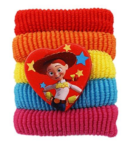Disney Pixar's Toy Story Jessie Assorted Mini Scrunchies (5pc, 1 Has -