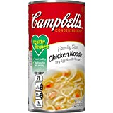Campbell's Healthy Request Condensed Soup, Chicken Noodle, Family Size, 22.4 Ounce Review
