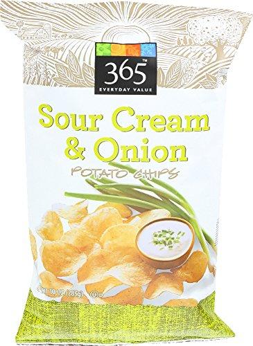365 Everyday Value, Sour Cream & Onion Potato Chips, 10 (Sour Cream And Onion Potato Chips)