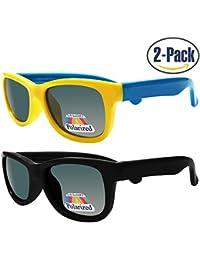 Kids Polarized Cat Eye or Aviator Sunglasses for Girls &...