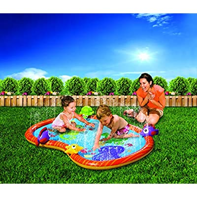 BANZAI 58 inch Sprinkle Friends Play Mat: Toys & Games