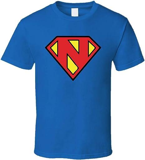 Superhelden-Kostüm Buchstabe N für Halloween, Paare
