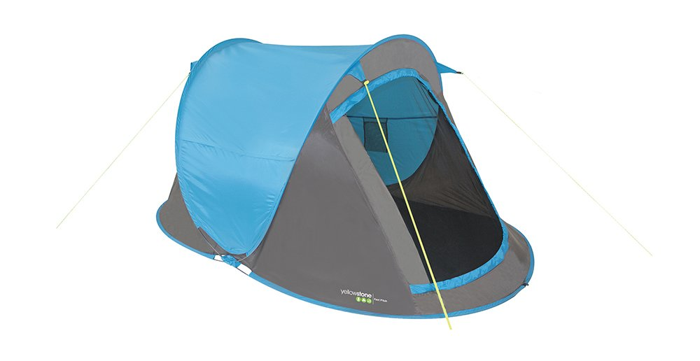 Amazon.com  YELLOWSTONE FAST PITCH 2 MAN CAMPING TENT (BLUE)  Sports u0026 Outdoors  sc 1 st  Amazon.com & Amazon.com : YELLOWSTONE FAST PITCH 2 MAN CAMPING TENT (BLUE ...