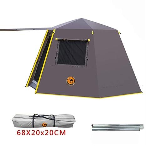 XLF Carpa UV Hexagonal Polo De Aluminio Automático Al Aire Libre ...