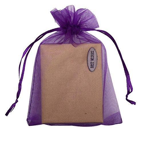 (SUNGULF 100pcs Organza Pouch Bag Drawstring 5