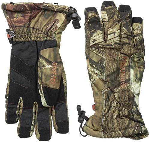 Gore Tex Thinsulate Gloves (Manzella Men's GORE-TEX X-TRAFIT Guide Gloves, Mossy Oak Infinity, Large)