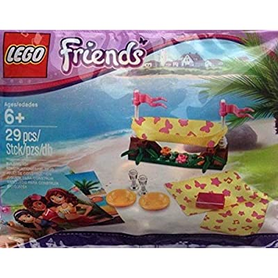 Lego Friends Beach Hammock 5002113 Event Promotional Exclusive: Toys & Games