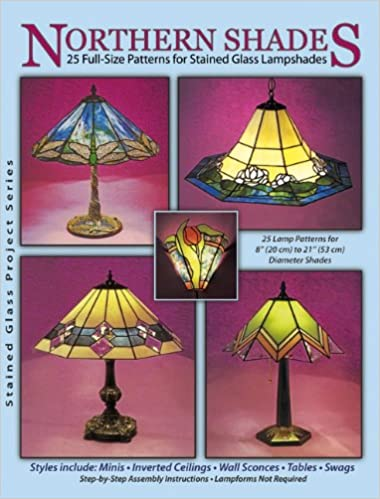 Amazon northern shades 25 full size patterns for stained amazon northern shades 25 full size patterns for stained glass lampshades 9790919985178 randy wardell judy huffman wardell publications books aloadofball Gallery