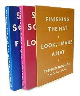 hat box the collected lyrics of stephen sondheim a box set