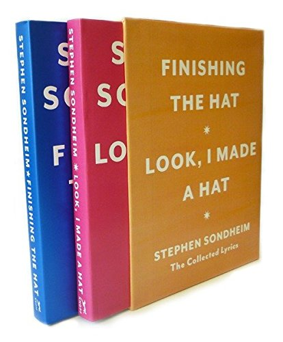 Stephen Sondheim Collection - Hat Box: The Collected Lyrics of Stephen Sondheim: A Box Set