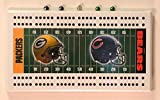 Rico Green Bay Packers vs. Chicago Bears NFL Cribbage Board