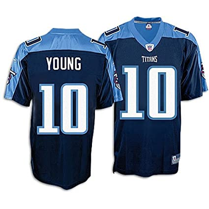 fe18ed78b23 Reebok Tennessee Titans Vince Young Replica Alternate Jersey Extra Large