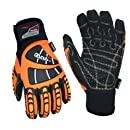 Cestus Temp Series HM Deep Winter Insulated Impact Glove, Work, Cut Resistant, 2X-Large (Pack of 1 Pair)