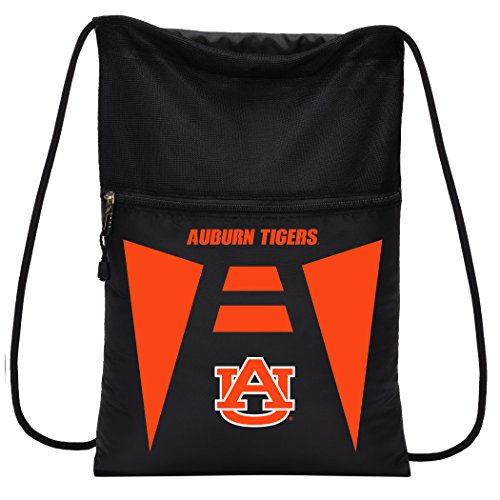 Officially Licensed NCAA Auburn Tigers Team Tech Backpack Backsack, One Size - Tigers Backpack Auburn