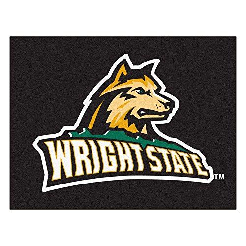 FANMATS NCAA Wright State University Raiders  Nylon Face All-Star Rug