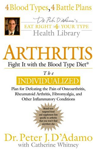 Arthritis: Fight it with the Blood Type